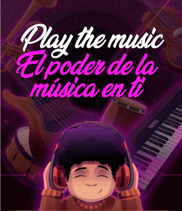 Play the music