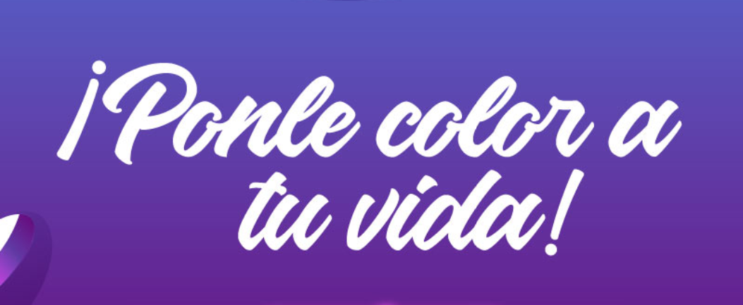 Ponle color a tu vida