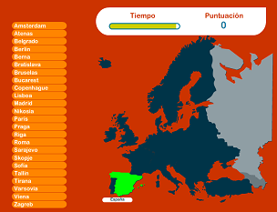 Conoce las capitales de Europa jugando  Pedagoga al da