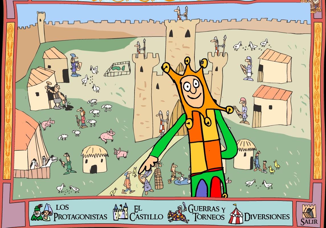 La edad media en primaria tictactuc - Castillos para ninos de infantil ...