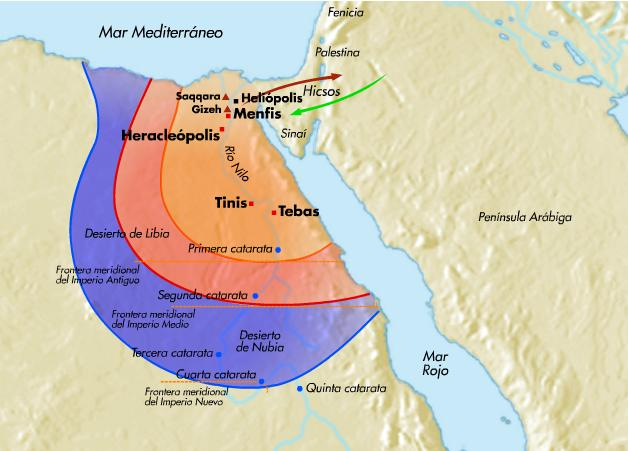 Mapa Del Antiguo Egipto.Trabaja El Antiguo Egipto Online Tictactuc