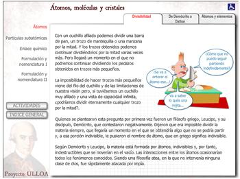 Recursos Interactivos Sobre El Atomo Y Los Modelos Atomicos