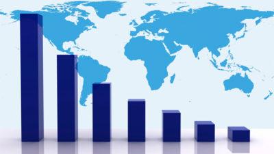 Economía mundial con mapas interactivos