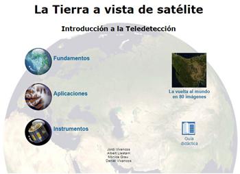 La Tierra a vista de satélite