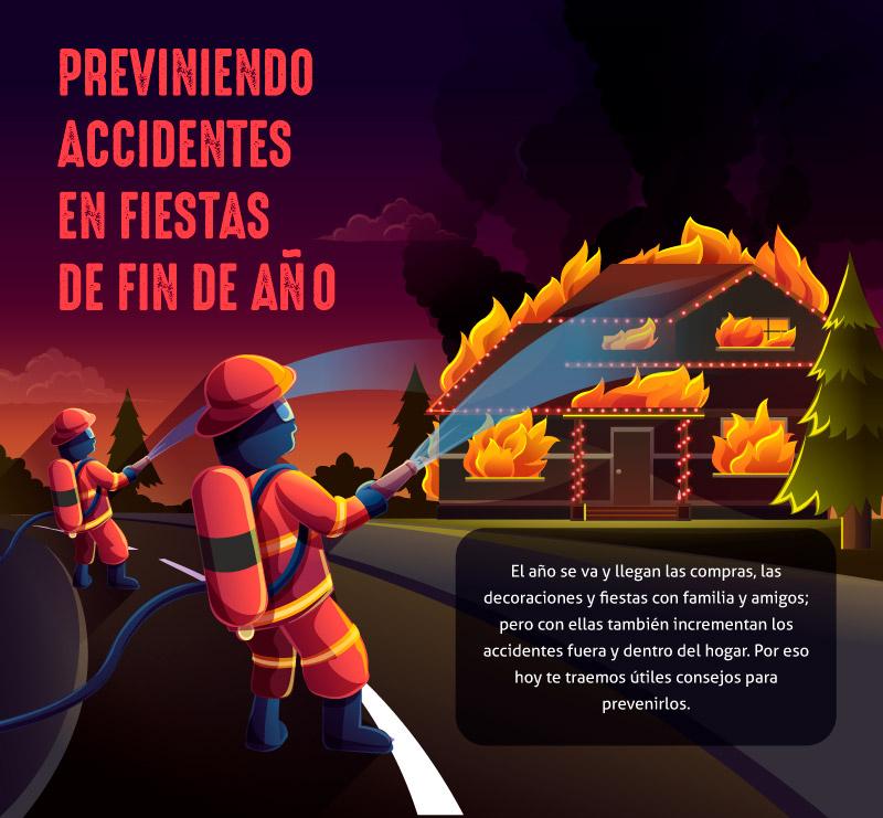 Previniendo accidentes en fiestas de fin de año