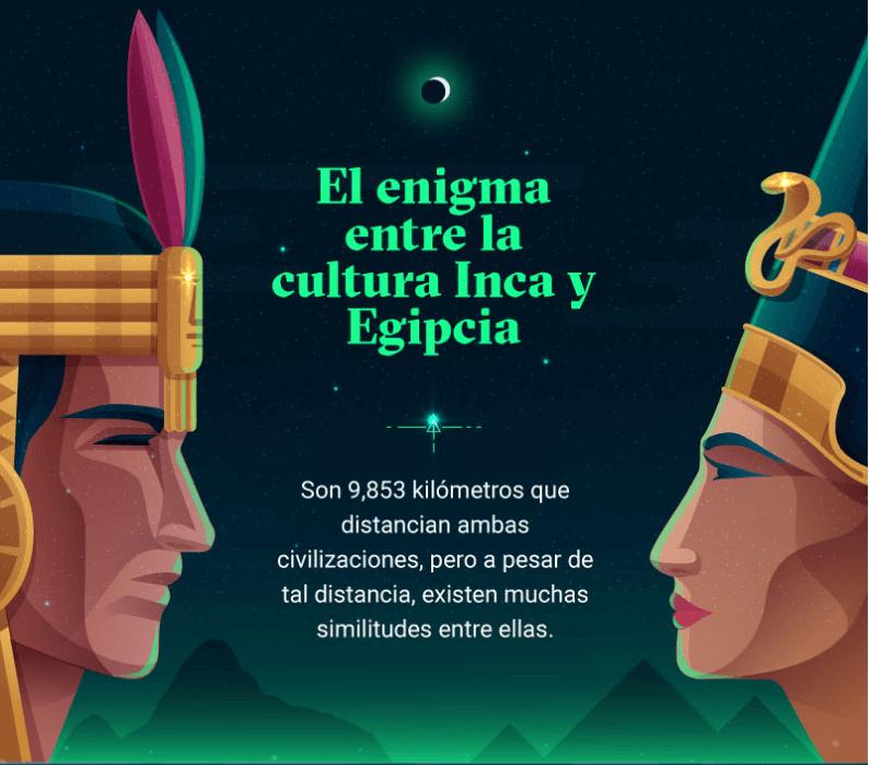 Las 6 similitudes entre la cultura inca y egipcia