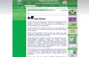 Plataforma Educativa Helvia (www.juntadeandalucia.es/averroes/helvia/sitio/index. cgi?wid_seccion=2&wid_item=24).