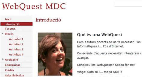 WebQuest MDC (Domingo, 2009b).
