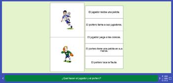 Actividades de comprensión lectora: el fútbol