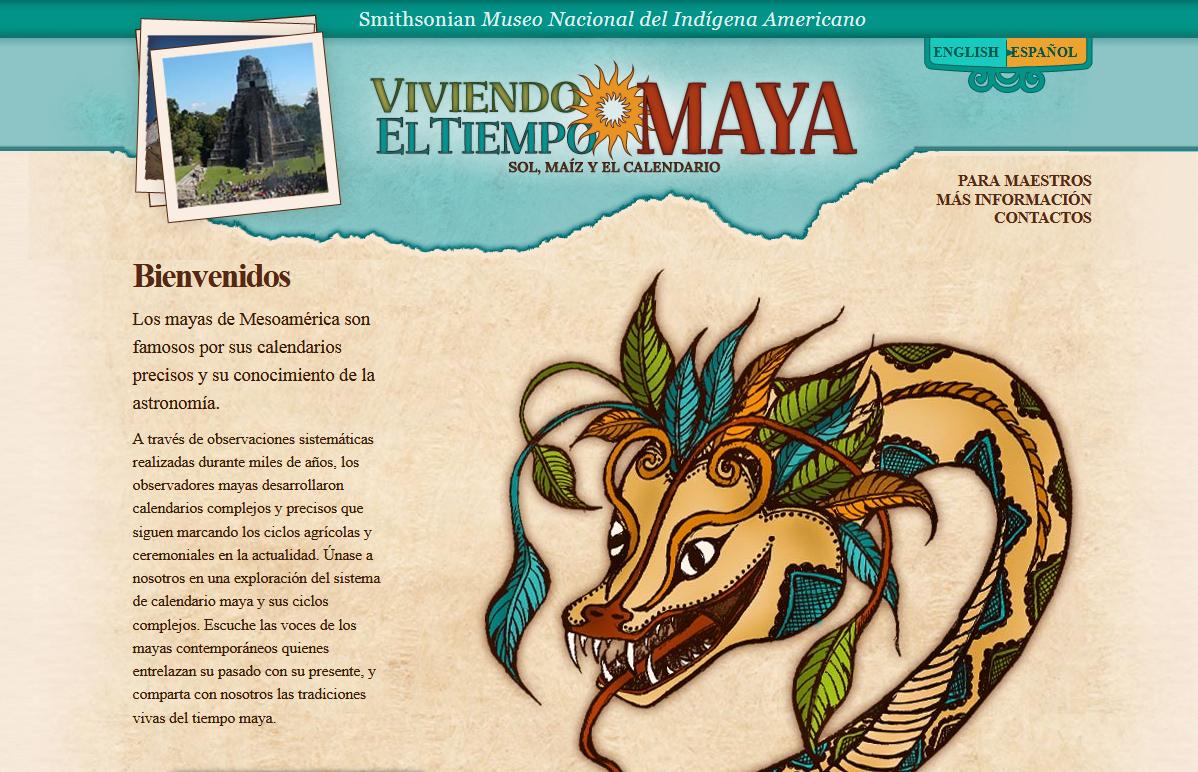 Viviendo el tiempo maya